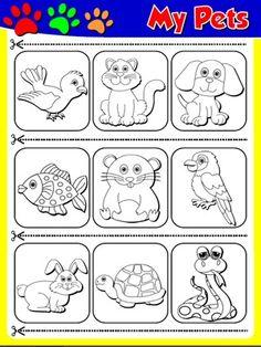Moi Zwierzęta - Ćwiczenie 2 (wycięcia)