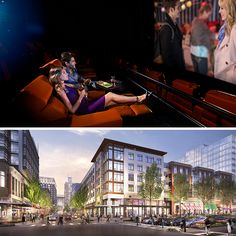 The all new iPic Theater, now in North Bethesda.