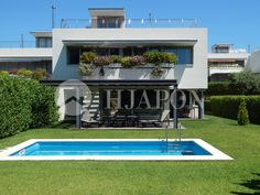 For sale promotion of luxury houses in the coast of Barcelona, Spain
