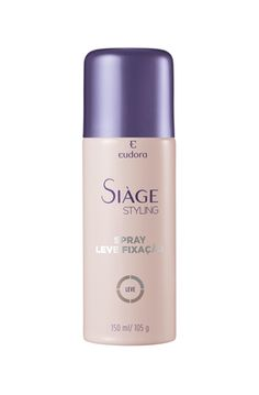 EUDORA - SIÀGE SPRAY DE BAIXA FIXAÇÃO -  R$ 22,90 | http://loja.eudora.com.br/cabelos/eudora-siage-spray-de-baixa-fixac-o.html