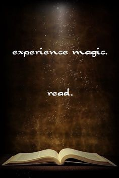 Experience Magic in a Good Book!