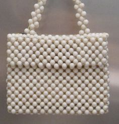 Beaded Vintage Purse Handbag by bobbysBoutique on Etsy, $15.00