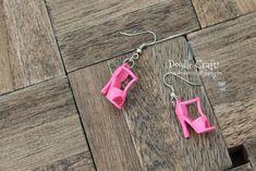 Barbie Shoe earrings super cute and simple to make (4)