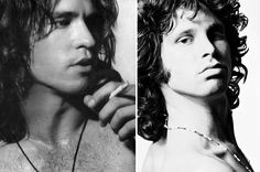 15+ Actors Vs. Historic People They Played (Shown: Val Kilmer As Jim Morrison In The Doors 1991)