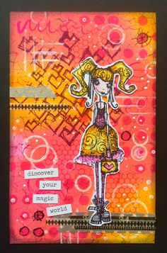 Wendy's Craft: Bright and bold Stampotique!