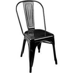 Cadeira Tolix Aço Carbono Preto - By Haus