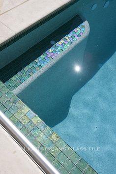 - Lightstreams Glass Pool Tile | Celadon Green