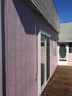 Our team updated this fantastic Fire Island home with a fresh coat of Benjamin Moore Aura Kept Love Letters (CSP-425) and Cake Batter (CSP-215) for the trim and peaks. An absolutely beautiful transformation for a beautiful home!