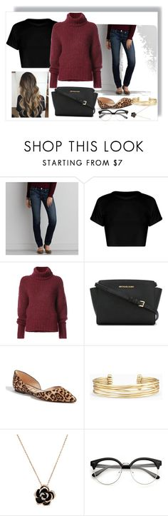 """""""American Eagle Outfitters"""" by lucy-hatch123 ❤ liked on Polyvore featuring American Eagle Outfitters, BY. Bonnie Young, MICHAEL Michael Kors, Sam Edelman and Stella & Dot"""