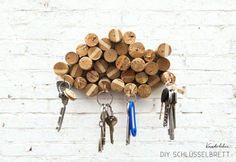 DIY: Upcycled Corks Key Rack Corks DIY