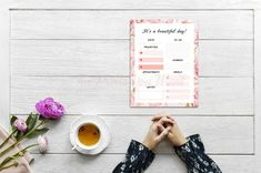 Items similar to ROSES DAILY PLANNER Print. Make your day beautiful with this romantic and lovely planner in pink shades and a frame of watercolor roses. on Etsy Calendar 2020, Desk Calendars, Watercolor Rose, Weekly Planner, Paper Goods, Digital Prints, Office Supplies, Stationery, Roses