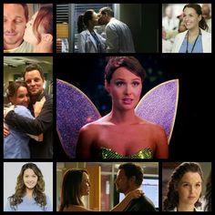 Grey's anatomy. My favorite couple!!
