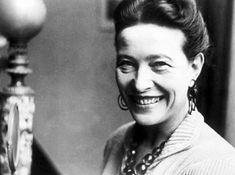 Simone de Beauvoir.  She had a relationship with Sartre.  You can see why.
