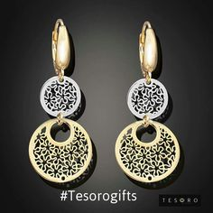 With strong links to fashion and a fashion attitude these yellow & white gold gift ideas will be the passion of every fashionista. #TesoroGifts Www.tesorojewellery.com.au