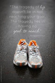 Create goals to reach