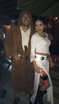 Jedi & Princess Leia Diy costume