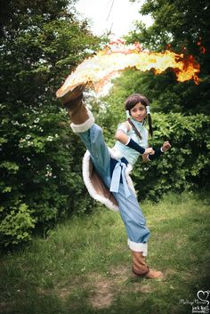 OP said: Awesome Legend of Korra cosplay - Korra and Asami Sato. Description from pinterest.com. I searched for this on bing.com/images