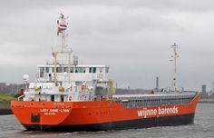 5 juni 2016 te IJmuiden komende uit Delfzijl  LADY ANNE-LYNN   http://koopvaardij.blogspot.nl/2016/07/maiden-voyage.html