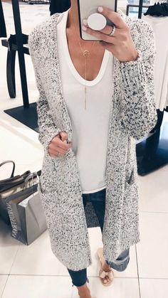 Nordstrom Anniversary Sale 2018 Try On - Pocket Long Cardigan