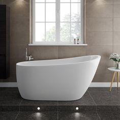 Bath tub modern small spaces 25 New Ideas Contemporary Bathrooms, Modern Bathroom, Small Bathroom, Master Bathroom, Barn Bathroom, Bathroom Tubs, Loft Bathroom, Neutral Bathroom, Bathroom Cabinets