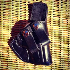 Concealed Carry Pro offers the 'Notus' Custom Leather IWB Handgun Holster, comfortable concealed carry option, featuring a body shield. Xds 45 Holster, Custom Leather Holsters, Inside The Waistband Holster, Ruger Lc9, Concealed Carry Holsters, M&p Shield, Hand Designs, Conceal Carry, Handgun