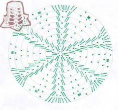 Crochet Christmas Ornaments, Christmas Crochet Patterns, Holiday Crochet, Crochet Snowflakes, Snowflake Pattern, Christmas Bells, Christmas Crafts, Crochet Ball, Crochet Doll Dress
