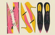 Shoes  #Illustration