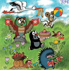 Krtek - The Mole called Krtek Photo - Fanpop Children's Book Illustration, Character Illustration, Cartoon Kids, Cute Cartoon, La Petite Taupe, The Mole, Forest Friends, Partys, World Best Photos