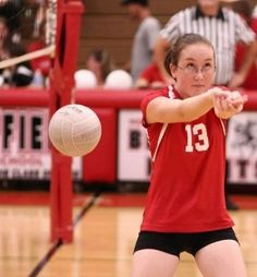 This is definitely what I look like when I play volleyball...