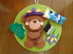 端午の節句 くまさん New Year's Crafts, Felt Crafts, Diy And Crafts, Crafts For Kids, Asian New Year, Kite, Origami, Projects To Try, Seasons