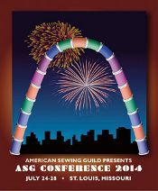 American Sewing Guild Conference July 24-28 St louis 2014