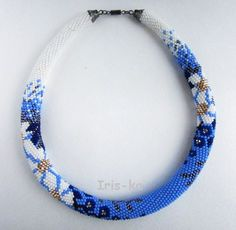 Фотография Crochet Bracelet Pattern, Crochet Beaded Bracelets, Bead Crochet Patterns, Bead Crochet Rope, Bracelet Patterns, Beaded Jewelry, Handmade Jewelry, Beaded Crochet, Seed Bead Necklace