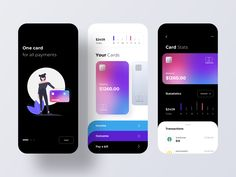 credit card website credit card logo banking card Credit Cards in Mobile Banking by Ron Design Credit Card App, Credit Card Design, Best Credit Cards, Credit Score, Mobile Credit Card, Mobile App Ui, Mobile App Design, Web Design, Mobiles