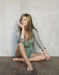 Jennifer Aniston - a wonderful example of aging gracefully, and gorgeous as always
