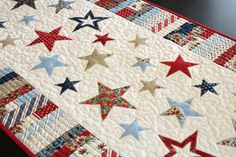 Looking for your next project? You're going to love Spangled Runner Quilt Pattern by designer FN.