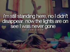 Never Gone - Colton Dixon
