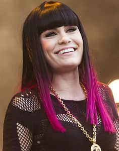 BLACK HAIR WITH TIPS COLORED | Dip Dye Hair Trend 2012 For Punk Girls - Fashion Forum - StyleBistro