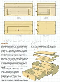 Lidded Box Plans - Woodworking Plans