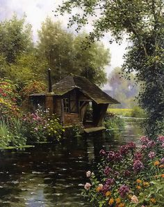 Louis Aston Knight - A Beaumont-le-Roger   Flickr - Photo Sharing!