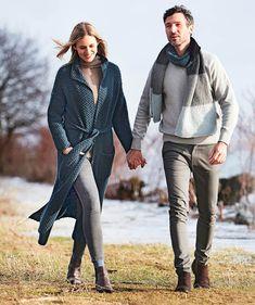 Duster Coat, Villa, Knitting, Sweaters, Jackets, Fashion, Down Jackets, Moda, Tricot