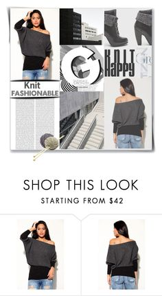 """""""Knit Fashionable"""" by meyli-meyli ❤ liked on Polyvore featuring Perrin"""
