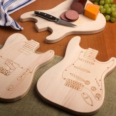 Guitar Cutting Board | Good project for the laser cutter | stewmac.com