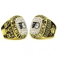 1975 Philadelphia Flyers Stanley Cup Championship Ring