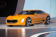 Kia GT4 Stinger Concept unveiled at the North American International Auto Show.