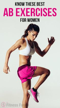 Know These Best ab exercises for women. Don't know how many of you know that your scale don't show whether a person is fat or fit. It is all about the composition of human body tissue rather than total body weight. #cardio