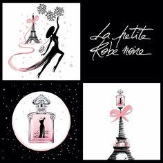 """La robe """" Couture """" de La petite robe noire de Guerlain"""
