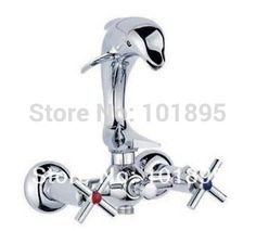 Retail - Luxury Brass Dolphin Bath Faucet, Chrome Finish Dolphin Mixer, Deck Mounted Dolphin Tap, Free Shipping X9537BS1