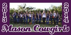 Banner of our World Famous Cowgirls Basketball Team