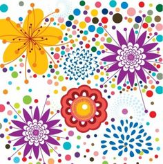 Free Vector Floral Pattern Background