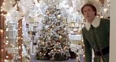 Does anyone else love the paper snowflakes in the movie Elf? In one of my favori… Does anyone else love the paper snowflakes in the movie Elf? In one of my favorite scenes, Elf decorates the department store with an elabo… Office Christmas, Noel Christmas, Christmas Wreaths, Christmas Ideas, White Christmas, Holiday Ideas, Christmas Lights, Christmas Lounge, Christmas Crafts